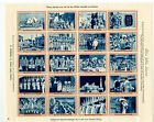 Ireland Stamps Silver Jubilee Sheet of 20 Stamps