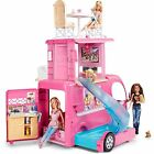 New Barbie Playset Pop Up Camper With Signature Style And 2 Seats Upfront