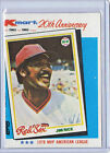 1982 Kmart WRONGBACK ERROR Jim Rice 1978 Topps Red Sox- Don Drysdale Dodgers #42