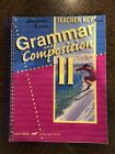 A BEKA BOOK GRAMMAR AND COMPOSITION II TEACHER KEY LANGUAGE FOURTH EDITION