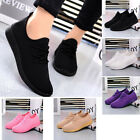 Womens Sports Running Casual Shoes Fitness Gym Trainers Comfort Black White