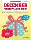 December Monthly Idea Book Ready to Use Templates Activities Management