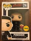 PUNISHER W DAREDEVIL'S MASK CHASE FIGURE EXCLUSIVE FUNKO POP RARE MARVEL NETFLIX