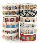 15mmX7M New Collection Japanese Style Travel Gourmet landscape Washi Tape