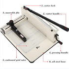 Multipurpose 17 Heavy Duty Guillotine Paper Cutter Metal Base A4 Trimmer