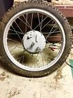 1972-76 Honda XL 175, XL 250, XL 175 front wheel - 18