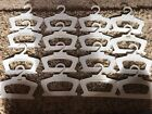 Cabbage Patch Kids Vintage CPK Clothes Hangers - Lot Of 16