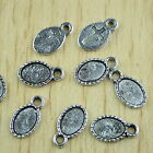 30pcs Tibetan silver oval picture frame charms h2849