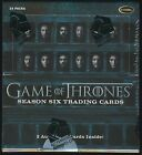 2017 Rittenhouse Game of Thrones (Season 6 Six) Trading Cards SEALED HOBBY BOX