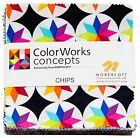 Colorworks Charm Pack 42 5  Squares by Northcott