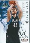 2014-15 Panini Paramount Kevin Love Buyback On-Card Auto #d 4 5 CAVS