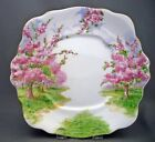 Royal Albert England Blossom Time Pattern Bone China Handled Cake Cookie Plate