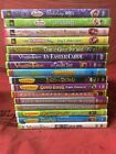 VeggieTales DVDs 12 Lot Silly Song Countdown Too w/Strawberry Shortcake DVD's
