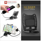 2in1 Car Dashboard Mount Metal Pad Holder USB Charger Cradle For iPhone Samsung