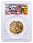 1913 Canada $10 Gold Reserve PCGS MS63 (Canada Gold Reserve Label) SKU46608