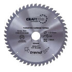 Trend CRAFTPRO Wood Cutting Mitre Saw Blade 260mm 24T 30mm