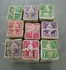 Giant lot of vintage US postage stamps 1930s 1940s 4500pcs