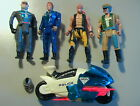 Robocop Ultra Police VINTAGE 1989 Lot of 6 Figures Parts Kenner C 6 Robocycle