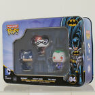 Funko Pocket POP! Tin - DC Comics - BATMAN, JOKER & HARLEY QUINN *NM TIN*
