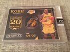 2016 Panini Eternal Kobe Bryant Lakers Logo Patch Game Used Jersey Tag #1 1