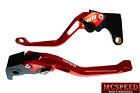 YAMAHA YZF600R Thundercat 1999-2007 Adjustable Brake & Clutch CNC Levers Red