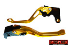 YAMAHA YZF600R Thundercat 1999-2007 Adjustable Brake & Clutch CNC Levers Gold