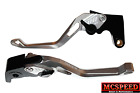 YAMAHA TRX 850 1996-2000 Adjustable Brake & Clutch CNC Levers Silver