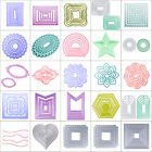 Frames DIY Cutting Dies Stencil Scrapbook Album Paper Cards Embossing Craft Lot