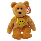 TY Beanie Baby - DIMPLES the Smiley Face Bear (Internet Exclusive) (8.5 inch)