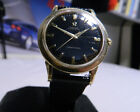 1963 OMEGA SEAMASTER Mens Black Dial Automatic Watch. Working Fine. Keeping Time