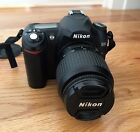 Nikon D50 61 MP Digital SLR Camera Black Kit w AF S DX 18 55mm Lens