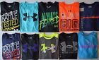 Boys Youth Under Armour Heat Gear Loose Fit Long Sleeve Shirt