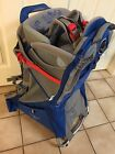 Osprey Poco Plus Child Carrier Backpack Blue Gray