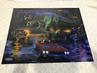NOS Original Sega Lost World Jurassic Park Pinball Translite Backglass Poster