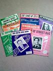 Vintage Sheet Music 9 pieces 12th Street Rag  others