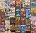 Lot of 28 all western paperbacks  lots of older first print books