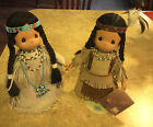 Precious Moments Indian Princess Sincere and Morning Star with Papoose with tags