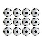 Table Soccer Foosballs Replacements Mini Black and White Balls Set of 12