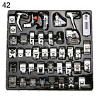 32/42Pcs Domestic Sewing Machine Presser Foot for Brother Janome Singer Pretty