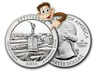 2011 5 oz Silver America The Beautiful Gettysburg Bullion Issue