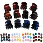 12 Pieces Multi Color Mini Small Hair Clips Claws Clamps Hair Lady Girl Jeweley