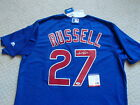 Addison Russell MAJESTIC Cool Base Chicago Cubs Auto Signed Jersey PSA DNA