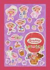 AMERICAN GREETINGS STICKERS STRAWBERRY SHORTCAKE 100 SHIPS ALL