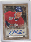 2006-07 Kirk Muller Artifacts Auto-Facts Autograph 1 1