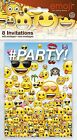 Pack of 8 Emoji Birthday Party Post Card Invitation
