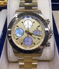 Men's 18K Solid Yellow Gold FESTINA Automatic F650 Chronograph Day Date Watch