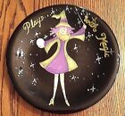 Witch Play With Magic Becca Barton Ceramic Plate Certified International