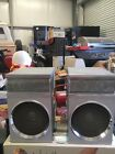 Vintage Sanyo C-7 Boombox Detachable Speakers Only C7s