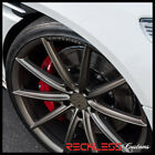 22 BLAQUE DIAMOND BD11 CONCAVE BRONZE WHEELS RIMS FITS AUDI D3 A8 QUATTRO