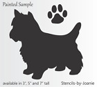 Joanie Stencil Beagle Dog Yorkie Pug Lab Corg Paw Kennel Animal Pet Sign U Paint